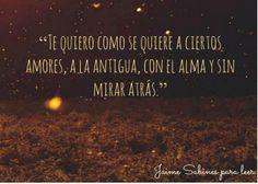#TeQuiero #Sabina