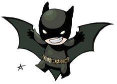 Chibi Batman by ~alexaaaaa on deviantART