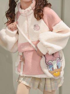 Harajuku Fashion, Japan Fashion, Kawaii Fashion, Lolita Fashion, Girl Outfits, Cute Outfits, Fashion Outfits, Kawaii Sweater, Cute Cows