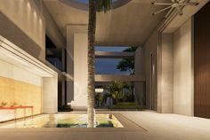 The Abidjan House Walk In Freezer, Panic Rooms, Cinema Room, Living Room Windows, Interior Garden, Villa Design, Guest Suite, How To Level Ground, Beautiful Bathrooms