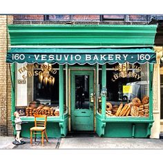 Love this bakery store front!