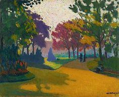Albert Marquet, Jardin du Luxembourg, 1898