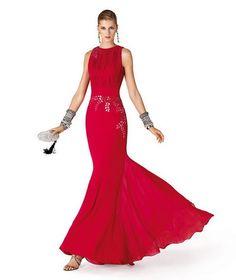 Resultado de imagen para vestidos en color rojo cortos