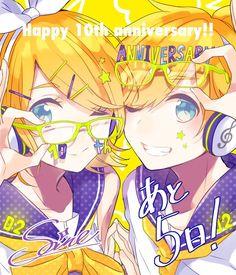 Happy 10th anniversary!! 5 more days!!!