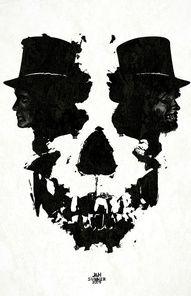 Jekyll and Mr. Hyde poster for TCM's Summer Under the Stars unique Halloween artwork. Jekyll And Mr Hyde, Totenkopf Tattoos, Illusion Art, Beetlejuice, Skull And Bones, Art Plastique, Under The Stars, Dark Art, Cool Art