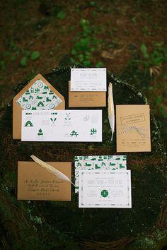 maine-summer-camp-wedding-ideas-004 - Ruffled