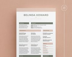 Resumes that help you make a great first impression! by KekeResumeBoutique Create A Resume, Resume Help, Resume Cv, Resume Design, Cv Template Word, Resume Templates, Microsoft Word, Resume Tips No Experience, Career Advice