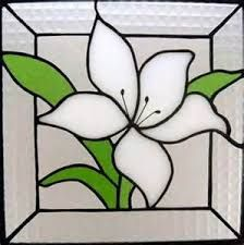 Image result for stained glass flower patterns