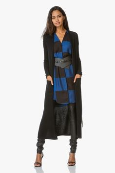 On-trend oversized check pattern