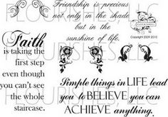 flourishes stamps timeless quotes - Google Search