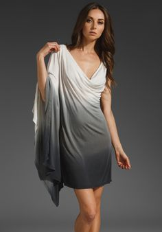 YOUNG, FABULOUS & BROKE Ombre Brandi Dress in Black at Revolve Clothing - Free Shipping!