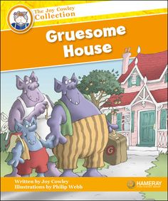 $5.95 Gruesome House - Part of the Orange Series: The Gruesomes have a new house, but it is too clean for ogres!