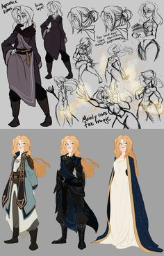 More Valkari studies as well at three Arch-Mage outfits The first is just the Ebony Mail armor with some robe additions to make it look more like Mage Armor. Second is a personal design based off t...