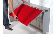 Mesa de cocina cubre radiador Single Radia. Disponible en varios colores.