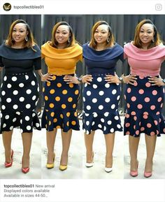 African Dresses For Women, African Attire, African Wear, African Fashion Dresses, Skirt Fashion, Fashion Outfits, Official Dresses, African Print Fashion, Young Fashion