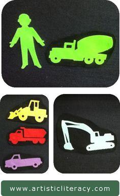 Artistic Literacy: My Favorite Truck Game