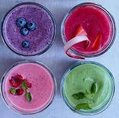 Smoothies have grown very popular over the years, with fruit smoothies being at the top of the list of favorite beverages. Many people already consume fruit smoothies regularly and have praised the… Fruit Smoothies, Juice Smoothie, Healthy Smoothies, Healthy Drinks, Healthy Snacks, Healthy Recipes, Rainbow Smoothies, Superfood Smoothies, Eating Healthy