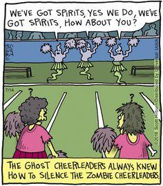 The Argyle Sweater Cartoon Humor, Funny Cartoons, Funny Comics, Funny Memes, Halloween Cartoons, Halloween Art, Happy Halloween, Argyle Sweater Comic, Zombie Pics