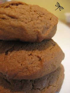 Biscuits, Cookie Recipes, Dessert Recipes, Brownie Cookies, Beignets, Banana Bread, Deserts, Food And Drink, Lunch