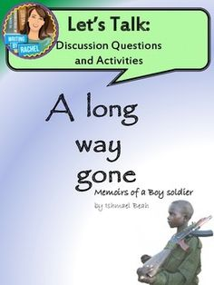 a complete printable workbook for the entire novel of ishmael a long way gone discussion questions and activities