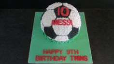 Soccer Ball Cake Soccer Ball Cake, Cakes For Men, 9th Birthday, Boys, Crafts, 9 Year Anniversary, Baby Boys, Children, Manualidades