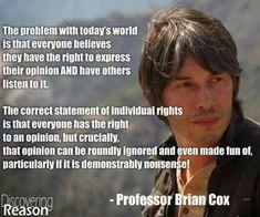 Professor Brian Cox.