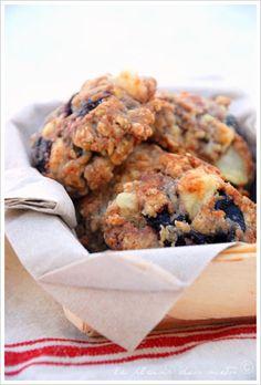 """Cookies """"basques"""" au fromage de brebis et confiture de cerises noires"""