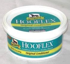 Hooflex Conditioner, 14 oz by Bradley Caldwell. $14.13. Maintains moisture balance and prevents cracks.. Hooflex Original Ointment is Americas best selling hoof conditioner and has been recommended by farriers for over 85 years. Its unique formula of nine therapeutic ingredients helps maintain the pliability of the entire hoof by providing conditioners necessary for proper moisture balance. Regular use of Hooflex will keep the frog, sole, heal, and coronary band fle...
