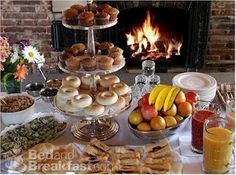 continental breakfast ideas | The Breakfast Bar...The Desert Bar Alternative