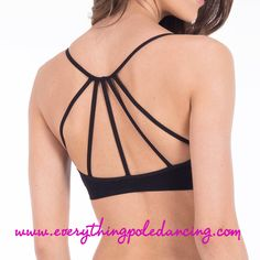Sunrise string back crop top from www.everythingpoledancing.com