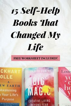 Looking for awesome personal development books to read in your 20s and beyond? Click through to check out my top list of seriously life-changing books. These self-help books cover all different areas of life from goal-setting and productivity to money and spirituality. Plus, you can also download my FREE worksheet for taking notes and putting the insight you learn into action, asap.