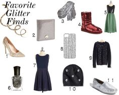 Favorite Glitter Finds for the New Year!