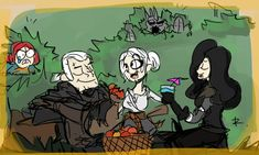 The Witcher 3, doodles 47 by Ayej on DeviantArt