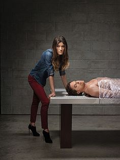 "Jennifer Carpenter, Michael C. Hall, ""Dexter"""