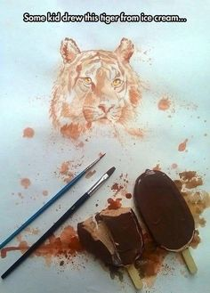 Insane Ice Cream Painting http://ibeebz.com