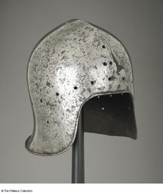 Sallet Unknown Artist / Maker North Italy c. 1450- c. 1470 Steel Height: 23.5 cm Weight: 2.041 kg Armourer's mark: Stamped twice A70 European Armoury I