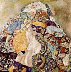 """Obra """"Baby"""" Criação 1917 (inacabada) Pintura a Óleo"""