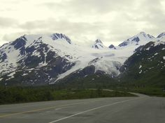 Worthington Glacier (Richardson Highway outside Valdez, Alaska)