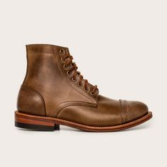 Oak Street Bootmakers | Natural Cap-toe Trench Boot - Footwear