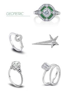 Engagement Ring Trends with Platinum Guild International
