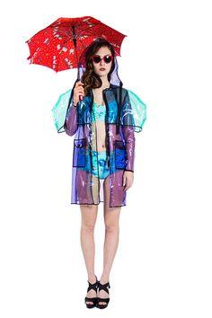 Clear Raincoat with cape   #Clear #Raincoat #cape #Rain #Coat #musthave #Anastasia #AnastasiaChatzka #Fashion #Fashiondesigner #Boutique #Chicago #Madeinchicago #newpost #outfit #OOTD #trending #fashionable #inspiration