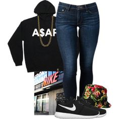 """A$VP"" by bloobaaa on Polyvore"