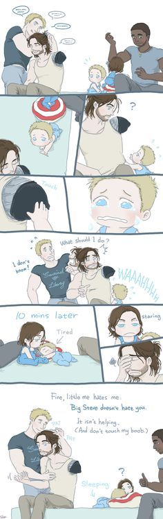 AWW LIL STEVE AND BUCKY