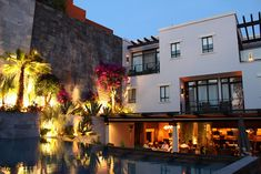 The lovely exterior of Hotel Matilda in San Miguel de Allende