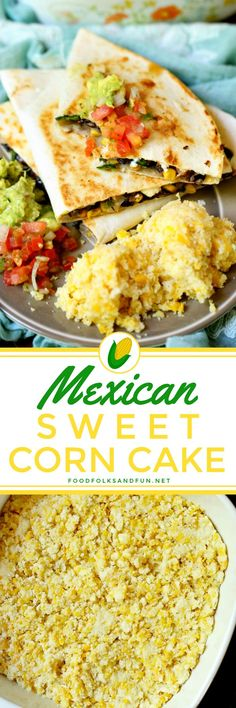 What makes this Mexican Sweet Corn Cake the best is that it's simple to make, perfectly sweet, moist, and it boasts some pretty fantastic fresh corn flavor! It's the perfect side dish for any Mexican meal!