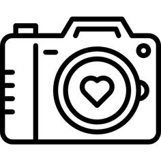 Camera free vector icons designed by Freepik - Everything About Technology 2019 Cute Easy Drawings, Unique Drawings, Art Drawings For Kids, Camera Logo, Camera Icon, Design Ios, Icon Design, Flat Design, Vector Icons