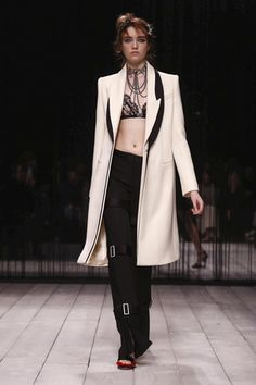 """Staged at night, in a venue where the late designer unleashed one of his earliest spectacles, Sarah Burton sent out a collection inspired by dreams."" [CONTINUE READING...]     LIVESTREAMING: T..."