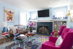 Before and After: A Baker's Dingy Rental Becomes a Joyful Ode to Color