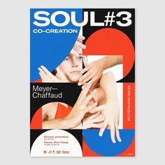 """soul by vincent meertens / netherlands, 2019 / digital print, 420 x 594 mm New Wave Cinema, Ticket, Layout Design, Print Design, Poster Design Inspiration, Poster Ideas, Swiss Design, Graphic Design Typography, Cool Designs"