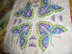 Butterfly crayon block